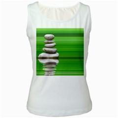 Balance Womens  Tank Top (white) by Siebenhuehner