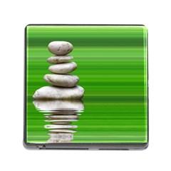 Balance Memory Card Reader With Storage (square) by Siebenhuehner