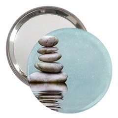 Balance 3  Handbag Mirror by Siebenhuehner