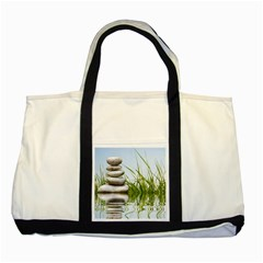 Balance Two Toned Tote Bag by Siebenhuehner