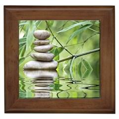 Balance Framed Ceramic Tile by Siebenhuehner