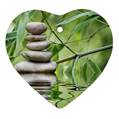 Balance Heart Ornament by Siebenhuehner