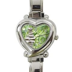 Balance Heart Italian Charm Watch  by Siebenhuehner
