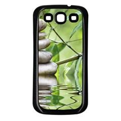 Balance Samsung Galaxy S3 Back Case (black) by Siebenhuehner
