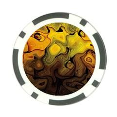 Modern Art Poker Chip by Siebenhuehner