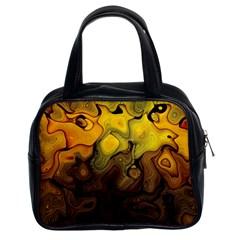 Modern Art Classic Handbag (two Sides) by Siebenhuehner