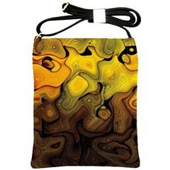 Modern Art Shoulder Sling Bag by Siebenhuehner