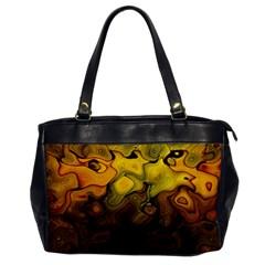 Modern Art Oversize Office Handbag (one Side) by Siebenhuehner