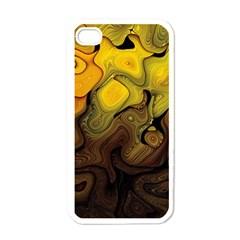 Modern Art Apple Iphone 4 Case (white) by Siebenhuehner
