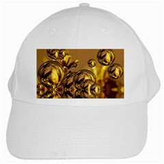 Magic Balls White Baseball Cap by Siebenhuehner
