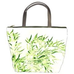 Bamboo Bucket Bag by Siebenhuehner