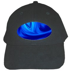 Wave Black Baseball Cap
