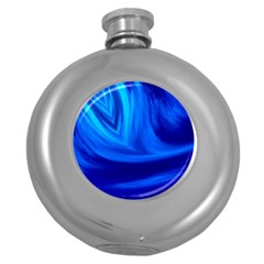 Wave Hip Flask (round) by Siebenhuehner