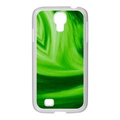 Wave Samsung Galaxy S4 I9500/ I9505 Case (white) by Siebenhuehner