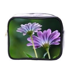 Flower Mini Travel Toiletry Bag (one Side) by Siebenhuehner