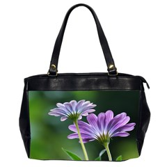 Flower Oversize Office Handbag (two Sides) by Siebenhuehner