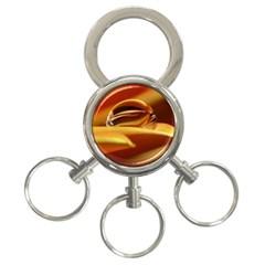 Waterdrop 3 Ring Key Chain by Siebenhuehner