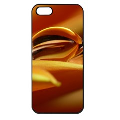 Waterdrop Apple Iphone 5 Seamless Case (black) by Siebenhuehner