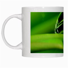 Waterdrop White Coffee Mug by Siebenhuehner