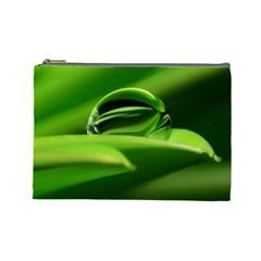 Waterdrop Cosmetic Bag (large) by Siebenhuehner