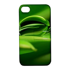Waterdrop Apple Iphone 4/4s Hardshell Case With Stand by Siebenhuehner