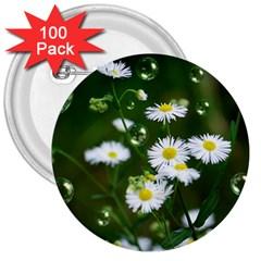 Magic Balls 3  Button (100 Pack) by Siebenhuehner