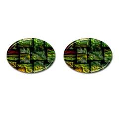 Modern Art Cufflinks (oval) by Siebenhuehner