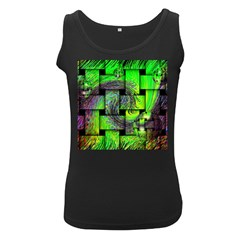Modern Art Womens  Tank Top (black) by Siebenhuehner