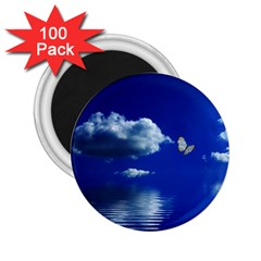 Sky 2 25  Button Magnet (100 Pack) by Siebenhuehner