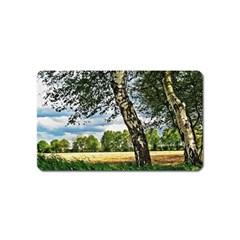 Trees Magnet (name Card) by Siebenhuehner