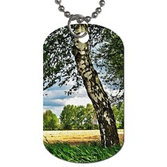 Trees Dog Tag (two Sided)  by Siebenhuehner