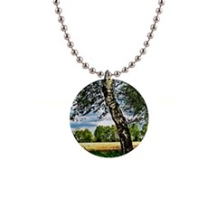 Trees Button Necklace by Siebenhuehner