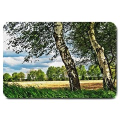 Trees Large Door Mat by Siebenhuehner