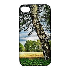 Trees Apple Iphone 4/4s Hardshell Case With Stand by Siebenhuehner