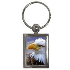 Bald Eagle Key Chain (rectangle) by Siebenhuehner