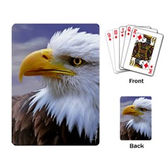 Bald Eagle Playing Cards Single Design by Siebenhuehner