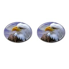 Bald Eagle Cufflinks (oval) by Siebenhuehner
