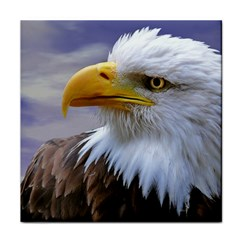 Bald Eagle Face Towel by Siebenhuehner