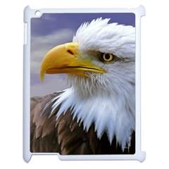 Bald Eagle Apple Ipad 2 Case (white) by Siebenhuehner