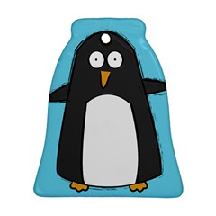 hello penguin Bell Ornament (Two Sides) by PaolAllen