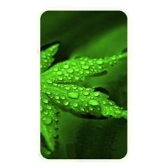 Leaf With Drops Memory Card Reader (rectangular) by Siebenhuehner
