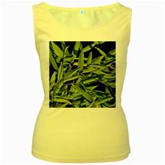 Bamboo Womens  Tank Top (yellow) by Siebenhuehner