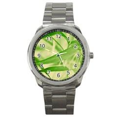 Bamboo Sport Metal Watch by Siebenhuehner