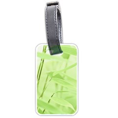 Bamboo Luggage Tag (two Sides) by Siebenhuehner