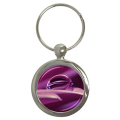Waterdrop Key Chain (round)