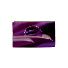 Waterdrop Cosmetic Bag (small) by Siebenhuehner