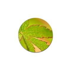 Leaf Golf Ball Marker by Siebenhuehner