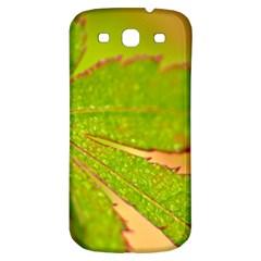 Leaf Samsung Galaxy S3 S Iii Classic Hardshell Back Case by Siebenhuehner