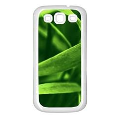 Bamboo Samsung Galaxy S3 Back Case (white) by Siebenhuehner
