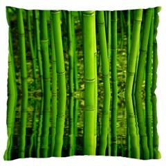 Bamboo Large Cushion Case (single Sided)  by Siebenhuehner
